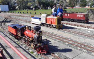 Steam locomotive, model engineering, live steam